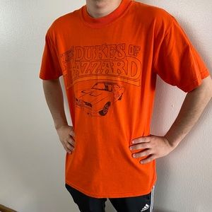 The Dukes Of Hazzard Orange Tee